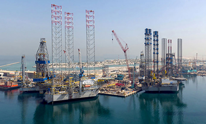 Lamprell to build first jack-up rigs in Saudi Arabia